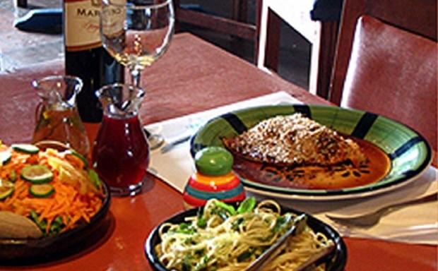 Nuestros platos. Fuente: Lostrescaracolesvilladeleyva.com.co